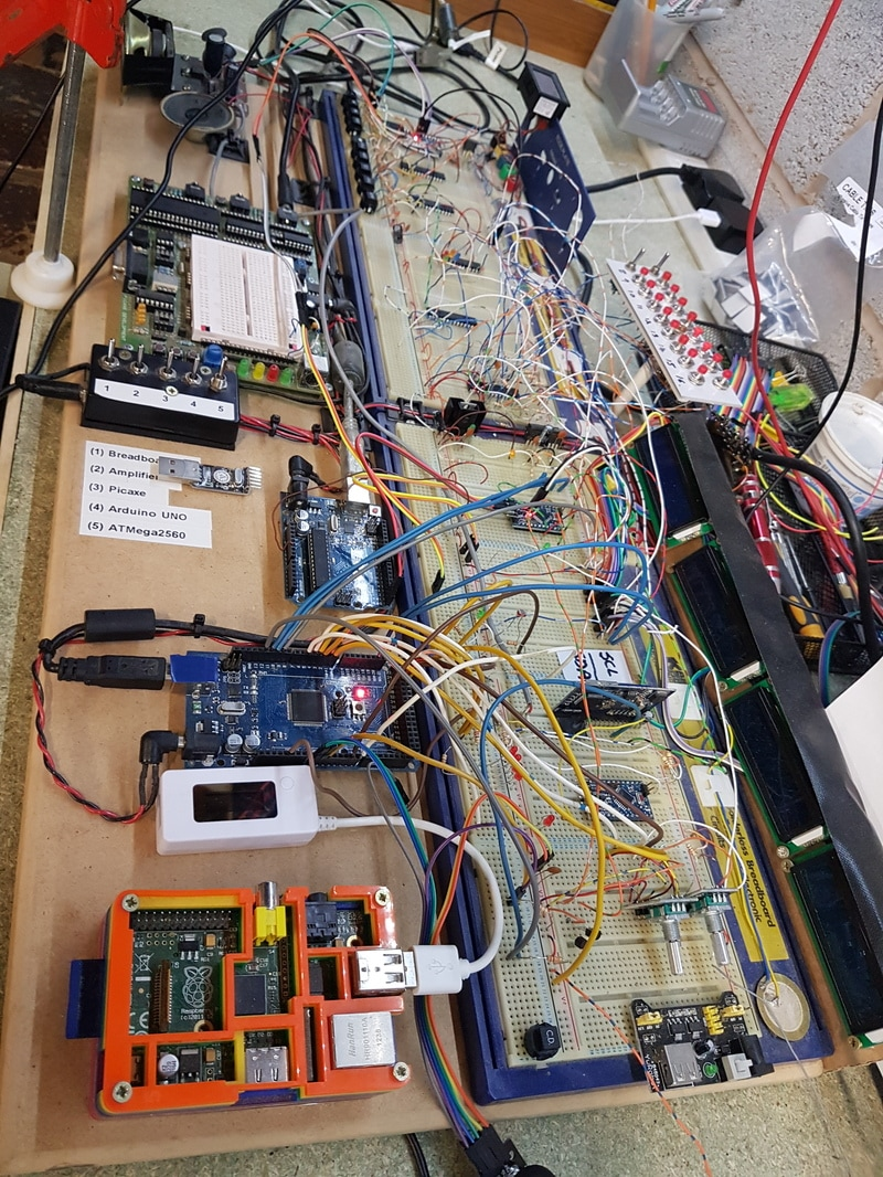 Circuit Projects Sound Effects T Electronic Components Blog Mini Trombone Generator By Lm3909 I Started The Project With Idea Of Having One Arduino Pro Running Most Lighting And However As Usual